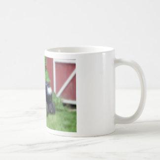 Groundhog on a Lawn Mower Coffee Mug