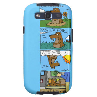 Groundhog on the phone! galaxy s3 cover