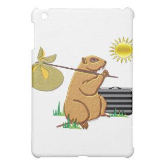Groundhog Runs Away iPad Mini Covers