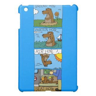 Groundhog Seat Hog iPad Mini Cover