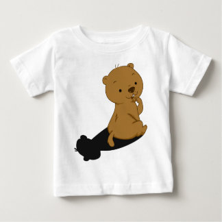 Groundhog Shadow Baby T-Shirt