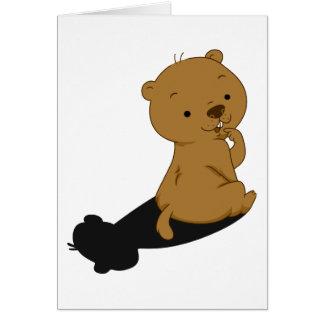 Groundhog Shadow Card
