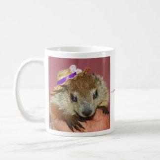 Groundhog/taza de Clara de la marmota