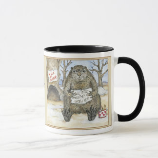 Groundhog Will Predict Weather for Seeds and Nuts Mug