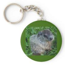 Groundhog/Woodchuck Keychain