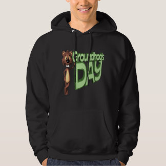 Groundhogs Day Hooded Pullover