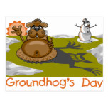 Groundhog's Day Post Card