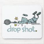 Groundies - mousepad del tiro de descenso tapete de ratón
