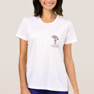 Groundies - Topspin Ladies Micro-Fiber T-Shirt