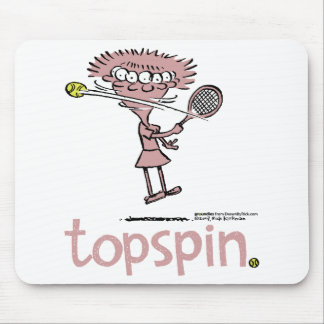 Groundies - Topspin mousepad