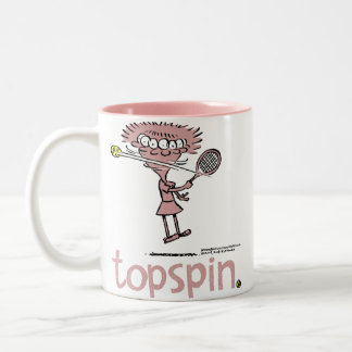 Groundies- Topspin Mug (Right hand)
