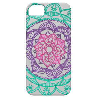 Grounding Mandala iPhone 5 Case By Megaflora