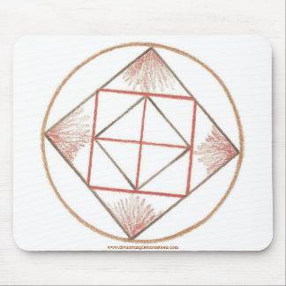 Grounding Mandala Mouse Pad