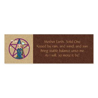Grounding Spell Card Mini Business Card