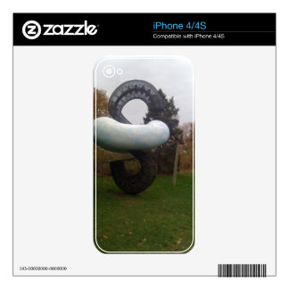 Grounds for Sculpture Skin For The iPhone 4