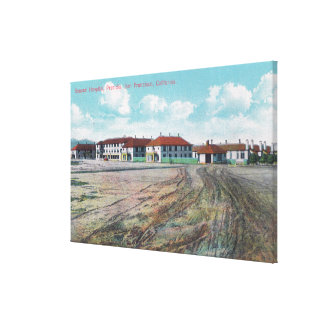 Grounds View of General Hospital Presidio Stretched Canvas Print