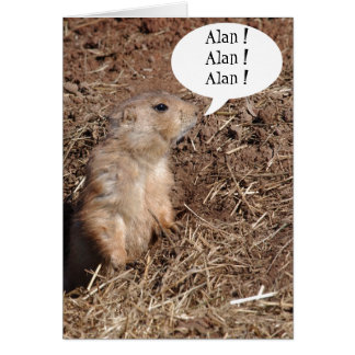 Groundsquirrel Card Template