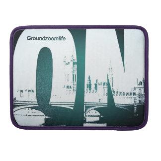 Groundzoomlife ON Mac book pro sleeve MacBook Pro Sleeve
