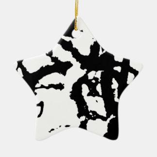 Group acrobatics ceramic ornament