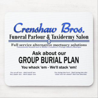 Group Burial Plan Mousepads