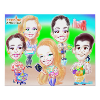Group Caricature Poster 2014f Posters