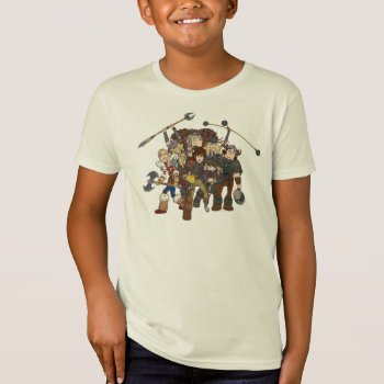 Group Graphic T-shirt by howtotrainyourdragon at Zazzle