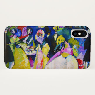 Group in Crinolines by Wassily Kandinsky iPhone X Case