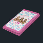 """Group In Pink Bubble Tri-fold Wallet<br><div class=""""desc"""">Check out these official H2O designs! Personalize your own H2O merchandise on Zazzle.com! Click the Customize button to insert your own name or text to make a unique product. Try adding text using various fonts &amp; view a preview of your design!</div>"""