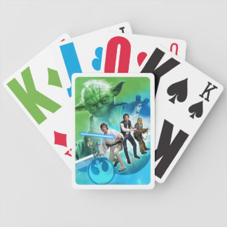 Group Inside Yoda Bicycle Playing Cards