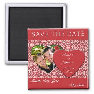 Group KNOWS THE DATES mosaics with arabesque 2 Inch Square Magnet