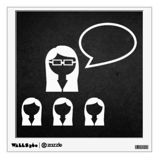 Group Leaders Icon Wall Decals