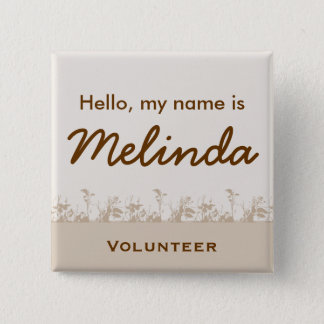 Group Name Tags Pinback Button