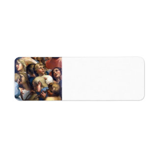 Group of angels from Corrège by Correggio Return Address Labels