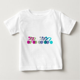 Group of Bikers Baby T-Shirt