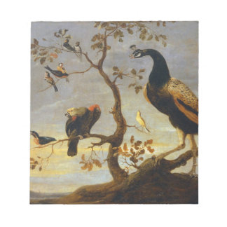 Group of Birds Perched on Branches  Frans Snyders Note Pad