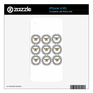 group of butterflies decal for the iPhone 4