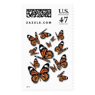 Group of Butterflies Postage