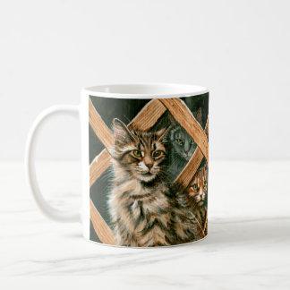 Group of Cats Coffee Tea Mug