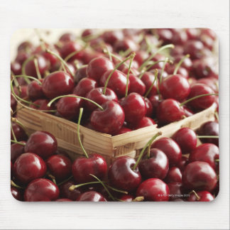 Group of cherries in punnett mouse pad
