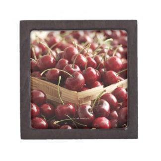 Group of cherries in punnett premium gift boxes