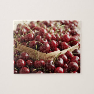 Group of cherries in punnett puzzle
