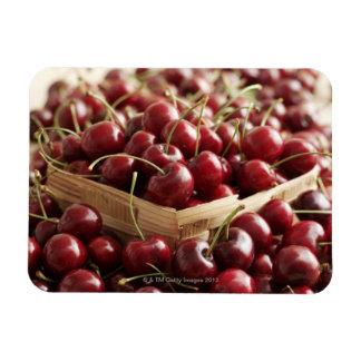 Group of cherries in punnett rectangular photo magnet