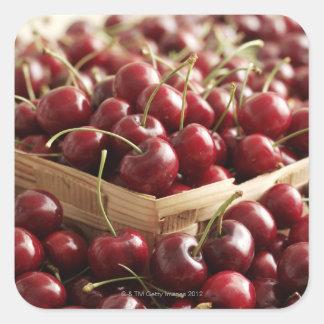Group of cherries in punnett square sticker