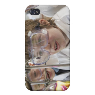Group of children (9-12) watching experiment in iPhone 4/4S covers