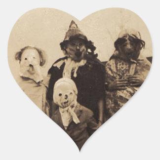 Group of Creepy Heart Sticker