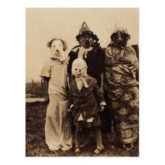 Group of Creepy Postcard