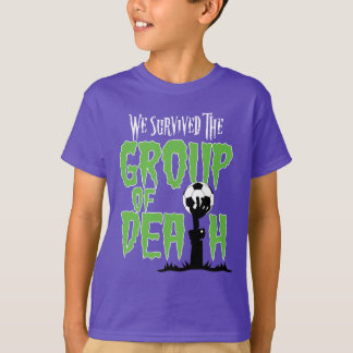 Group Of Death Socccer Kids' Hanes T-Shirt