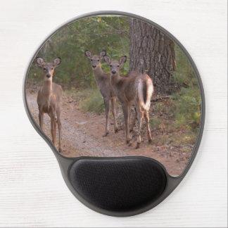 Group of Deer Gel Mousepads