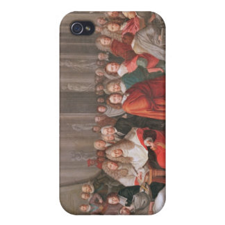 Group of Distinguished Gentlemen Born  Abbeville Cases For iPhone 4
