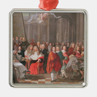 Group of Distinguished Gentlemen Born  Abbeville Metal Ornament